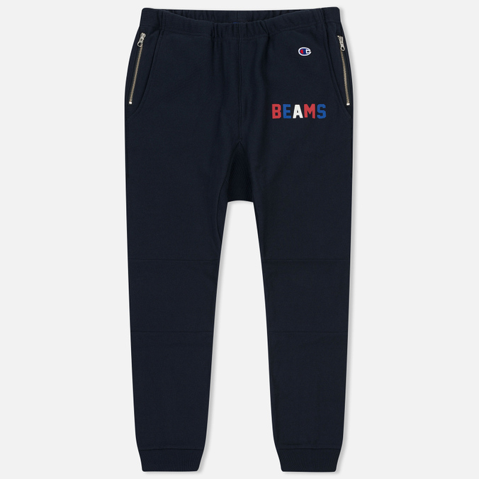 Мужские брюки Champion Reverse Weave x Beams Elastic Cuff Navy
