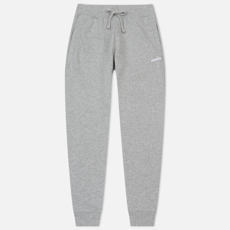 Мужские брюки Diadora SL Fleece Light Middle Grey Melange