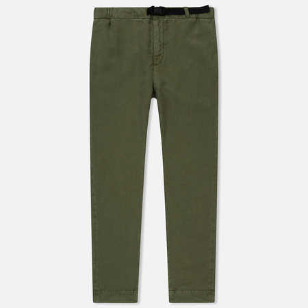 Мужские брюки Edwin 25 Chino Light Canvas Lyocell/Linen 5.9 Oz Military Green Garment Dyed