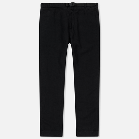 Мужские брюки Edwin 25 Chino Light Canvas Lyocell/Linen 5.9 Oz Black Garment Dyed