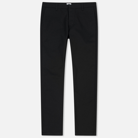 Мужские брюки Edwin 45 Chino CS Twill Poly Black Normal Rinsed