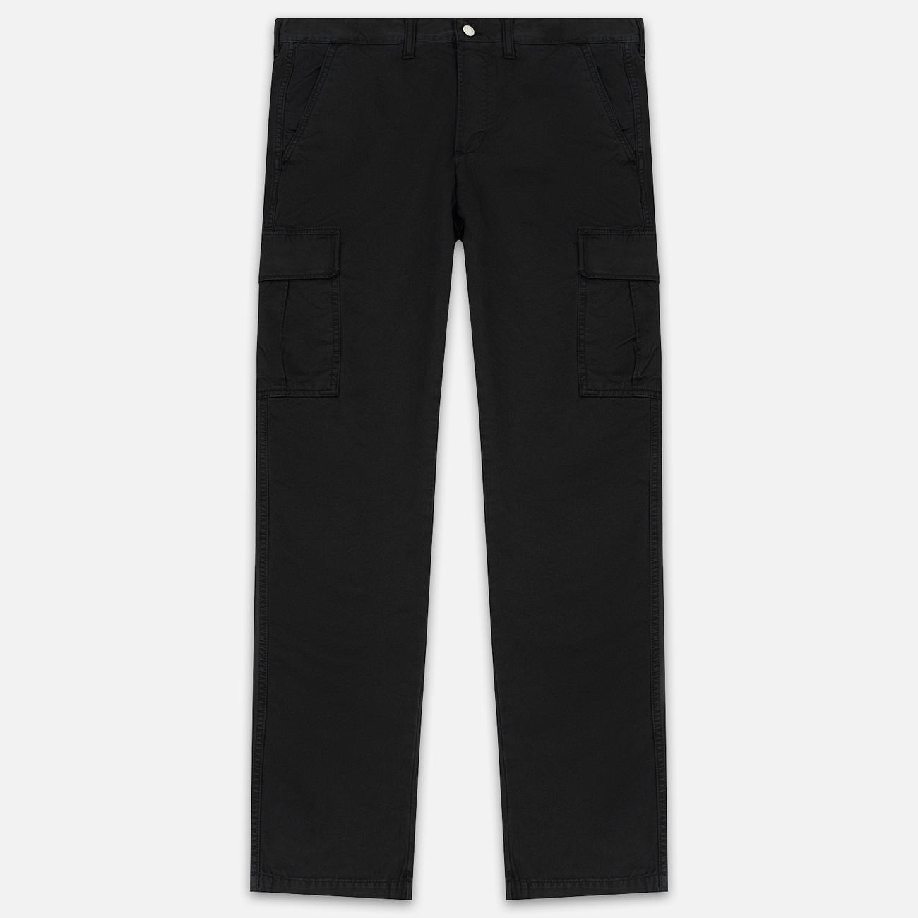 Мужские брюки Edwin 45 Combat 9 Oz Garment Dyed Enzyme Wash Black