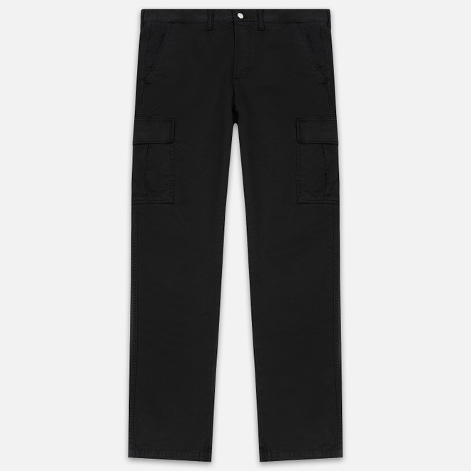 Мужские брюки Edwin 45 Combat 9 Oz Garment Dyed Enzyme Wash Black