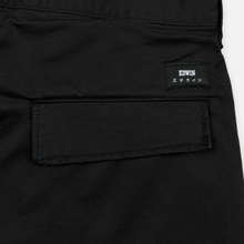 Мужские брюки Edwin 45 Combat 9 Oz Garment Dyed Enzyme Wash Black фото- 4