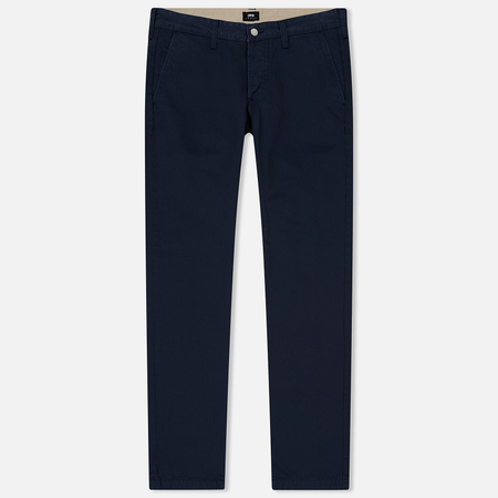 Мужские брюки Edwin 55 Chino Compact Twill 9 Oz Navy Rinsed