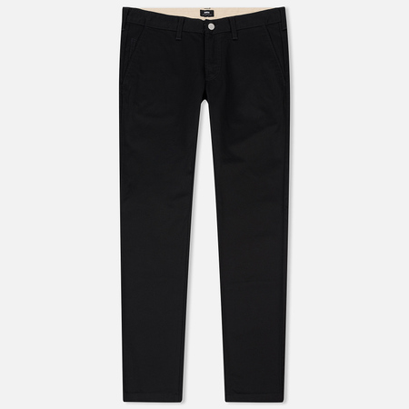 Мужские брюки Edwin ED-55 Chino Compact Twill 9 Oz Black Rinsed
