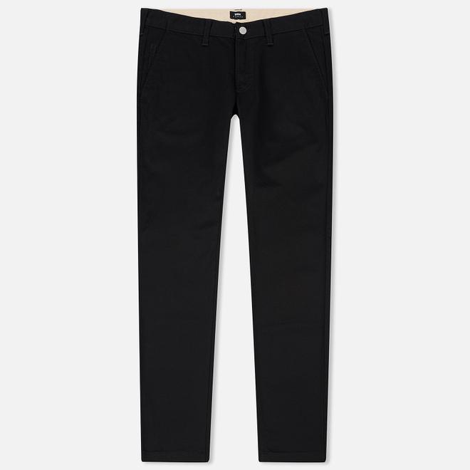 Мужские брюки Edwin ED-55 Chino Compact Twill 9 Oz Black Rinsed