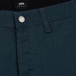 Мужские брюки Edwin ED-55 Chino Compact Twill 9 Oz Dark Slate Rinsed фото- 1