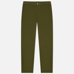 Мужские брюки Edwin ED-55 Chino Compact Twill 9 Oz Military Green Plain Rinsed