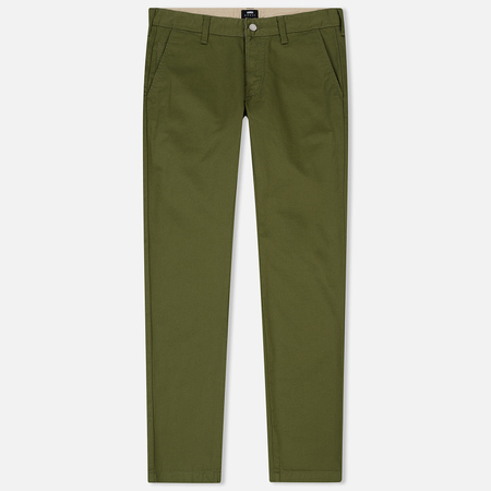Мужские брюки Edwin ED-55 Chino Compact Twill 9 Oz Military Green Rinsed