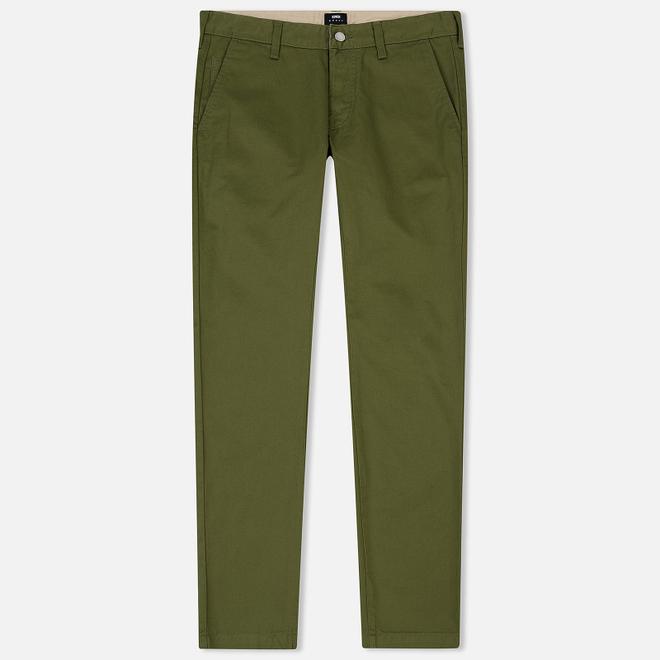 Мужские брюки Edwin ED-55 Chino Compact Twill 9 Oz Military Green Rinsed