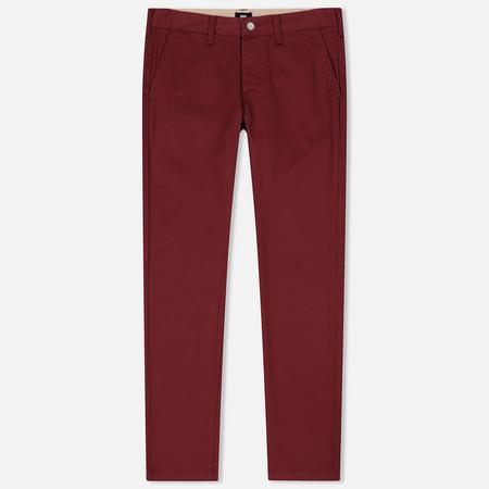 Мужские брюки Edwin ED-55 Chino Compact Twill 9 Oz Oxblood Red Rinsed