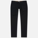 Мужские брюки Edwin ED-55 Chino Compact Twill Black Rinsed фото- 0