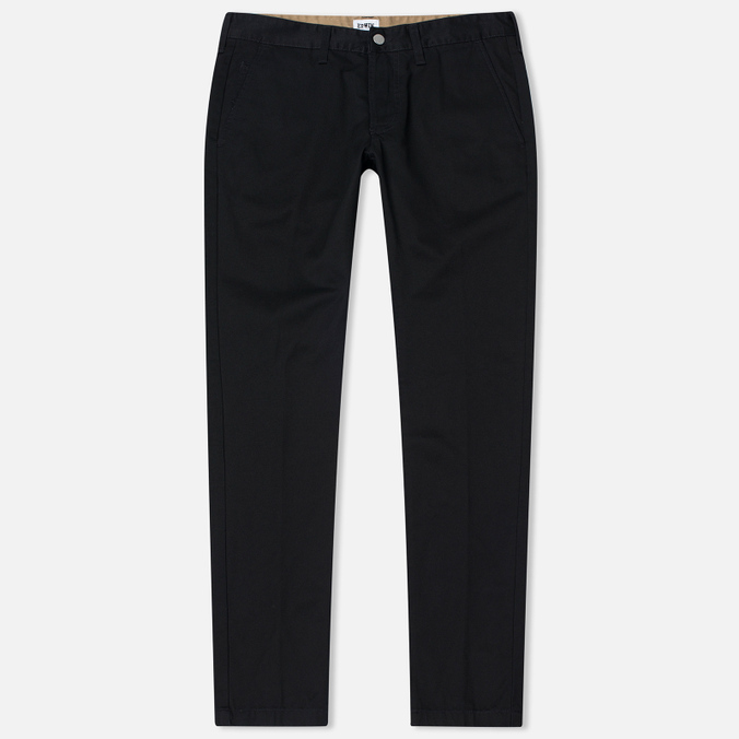 Мужские брюки Edwin ED-55 Chino Compact Twill Black Rinsed