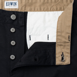 Мужские брюки Edwin ED-55 Chino Compact Twill Black Rinsed фото- 1