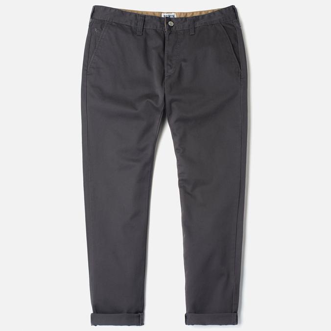 Мужские брюки Edwin ED-55 Chino Compact Twill Charcoal Rinsed