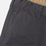 Мужские брюки Edwin ED-55 Chino Compact Twill Charcoal Rinsed фото- 3
