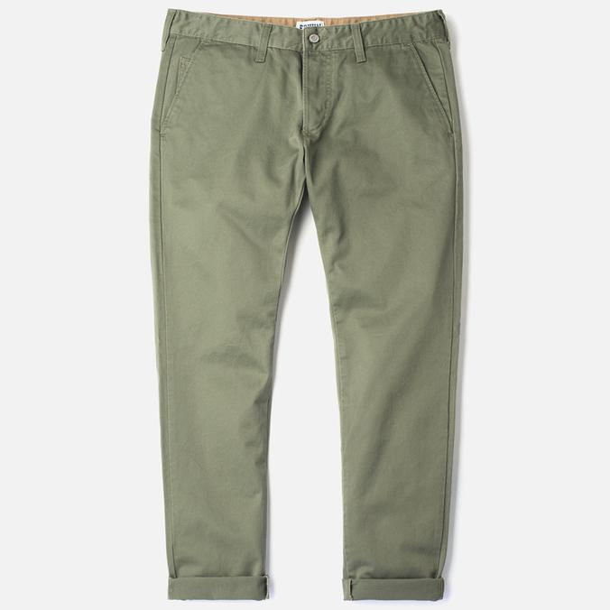Мужские брюки Edwin ED-55 Chino Compact Twill Khaki Rinsed