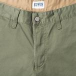 Мужские брюки Edwin ED-55 Chino Compact Twill Khaki Rinsed фото- 2