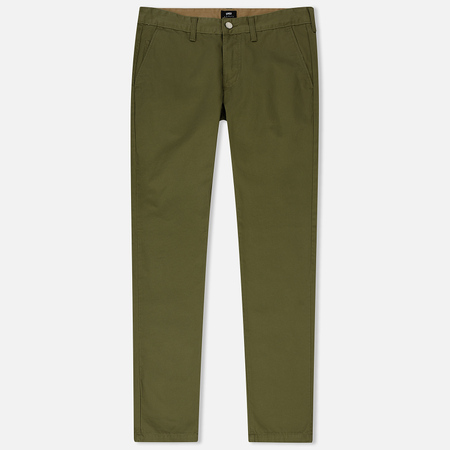 Мужские брюки Edwin ED-55 Chino Compact Twill Military Green Rinsed