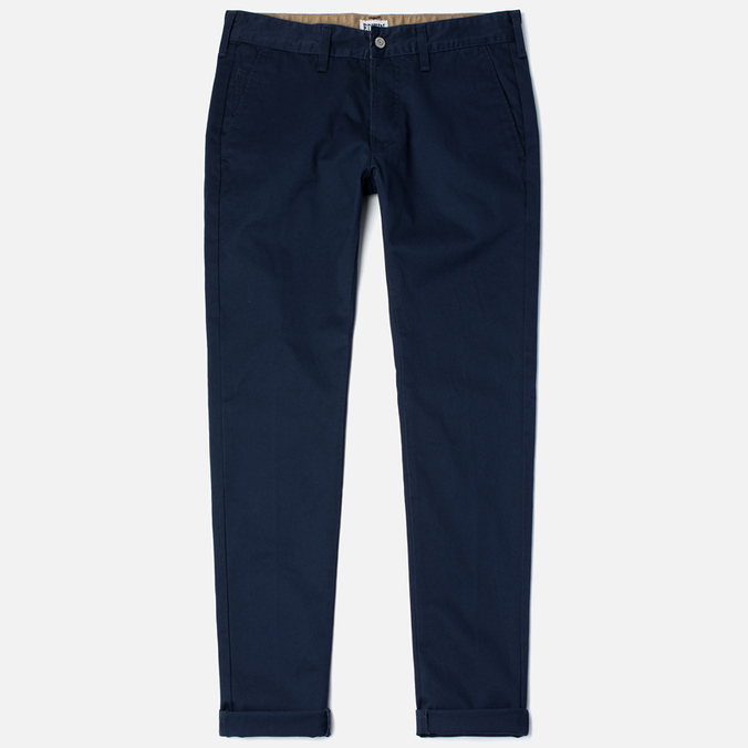 Edwin ED-55 Chino Compact Twill Men`s Trousers Navy Rinsed