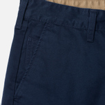 Edwin ED-55 Chino Compact Twill Men`s Trousers Navy Rinsed photo- 2