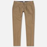 Мужские брюки Edwin ED-55 Chino Compact Twill Stone Beige Rinsed фото- 0