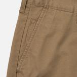 Мужские брюки Edwin ED-55 Chino Compact Twill Stone Beige Rinsed фото- 1