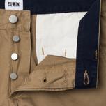 Мужские брюки Edwin ED-55 Chino Compact Twill Stone Beige Rinsed фото- 2