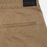 Мужские брюки Edwin ED-55 Chino Compact Twill Stone Beige Rinsed фото- 3