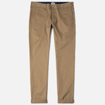 Edwin ED-55 Chino Compact Twill Stone Men`s Trousers Beige Rinsed photo- 0