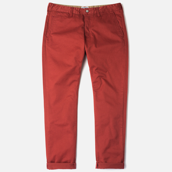 Edwin ED-55 Chino Compact Twill Men`s Trousers Terra Rinsed