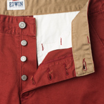 Edwin ED-55 Chino Compact Twill Men`s Trousers Terra Rinsed photo- 2