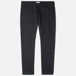 Мужские брюки Edwin ED-55 Chino Herringbone Wooly Black фото- 0