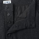 Мужские брюки Edwin ED-55 Chino Herringbone Wooly Black фото- 3