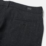 Мужские брюки Edwin ED-55 Chino Herringbone Wooly Black фото- 1