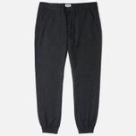 Мужские брюки Edwin ED-55 Jogger Herringbone Wooly Black фото- 0