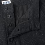 Мужские брюки Edwin ED-55 Jogger Herringbone Wooly Black фото- 3