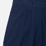 Мужские брюки Edwin Pleated French Seersucker Navy фото- 2