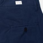 Мужские брюки Edwin Pleated French Seersucker Navy фото- 3