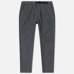 Мужские брюки Edwin Trek Italian Virgin Wool Felt Grey Marl фото- 0