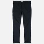 Edwin Union Chino Twill 7.25 Oz Men`s Trousers Black photo- 0