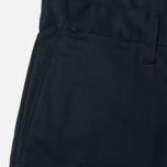 Edwin Union Chino Twill 7.25 Oz Men`s Trousers Black photo- 2