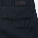 Edwin Union Chino Twill 7.25 Oz Men`s Trousers Black photo- 3