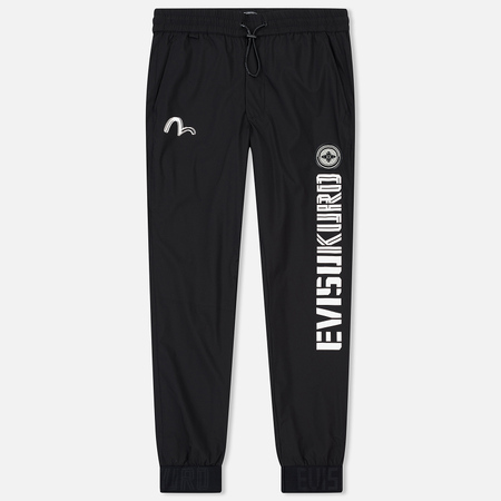 Мужские брюки Evisu Badge Sport Black