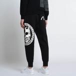 Мужские брюки Evisu Devil Print Black фото- 7