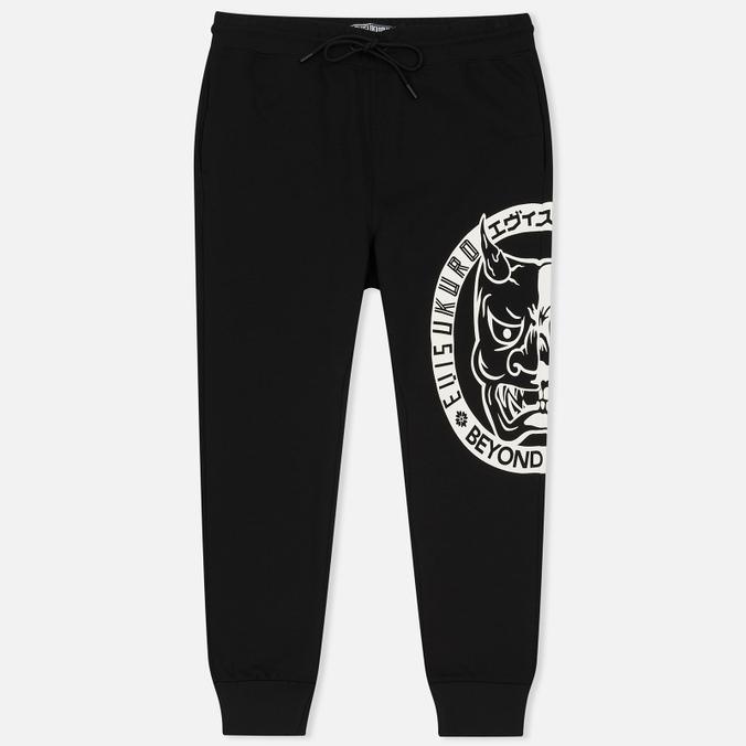 Мужские брюки Evisu Devil Print Black