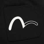 Мужские брюки Evisu Devil Print Black фото- 5