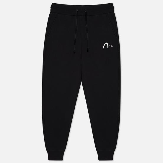 Мужские брюки Evisu Evisukuro Leaves Graphic Black
