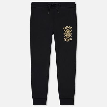 Мужские брюки Evisu Glitter Mixed Yin Yang Hannua Black